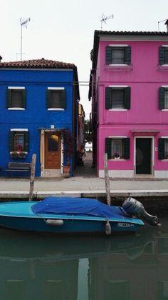 Colores de Burano #italia