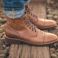 @thursdayboots + Horween Leather = perfect for boot season! #thursdayboots