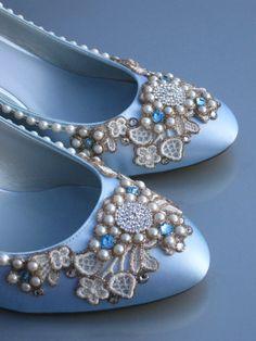 Something Blue Bridal Heels