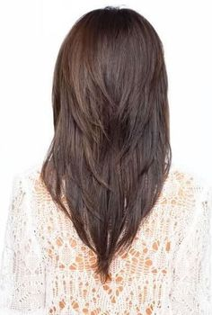 Haircuts Style , Layered Haircuts For Long   Hair Round Face; Beach Waves and Retro Glamour : Layered Haircuts For Long Hair   Back View