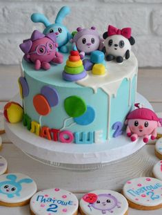 Cake Decorating, Birthday Cake, Candy, Foods, Baking, Desserts, Sweet, Food Food, Bread Making