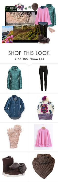 """""""Brisk Irish Mornings"""" by dawnner ❤ liked on Polyvore featuring L.L.Bean, Muk Luks, WithChic and UGG"""