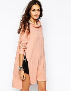 Free People - Ina Hurry - Sweat à capuche effet chiné
