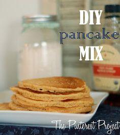 The Pinterest Project: DIY Pancake Mix