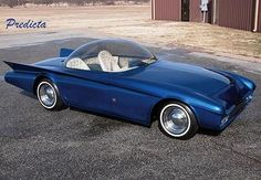 Predicta - Darrill Starbird - 1956 tbird radical bubble top custom