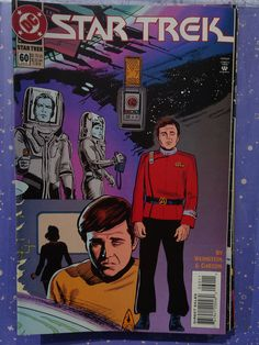 Amazing Rare Vintage Star Trek Comic year jun no. 60 in absolute excellent condition, mint new. Comic Book List, Comic Book Covers, Comic Books, Star Comics, Dc Comics, Star Trek Meme, Star Trek Books, Outlaw Star, Star Trek Images