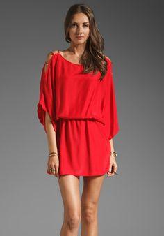 KARINA GRIMALDI Pampita Mini Dress