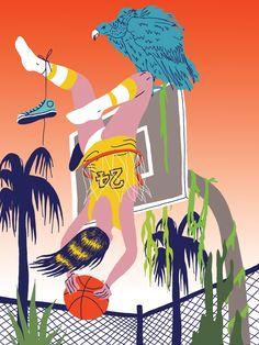 VO | Valérie Oualid : Agent d'illustrateurs | Ludwick Hernandez | L'été Illustration, Artist, Movies, Movie Posters, Films, Artists, Film Poster, Cinema, Illustrations