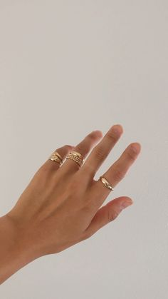 signet, dome, and twist rings - Solid gold rings that won't turn your ski. - signet, dome, and twist rings – Solid gold rings that won't turn your skin green – - Gold Rings Jewelry, Cute Jewelry, Diamond Jewelry, Women Jewelry, Fashion Jewelry, Gold Bracelets, Jewlery, Diamond Earrings, Dainty Gold Jewelry