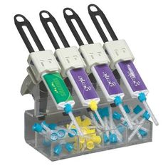 Dispenser Gun Rack - Dispenser Gun and Mixing Tip Holder – 4 Slot - Sultan Healthcare, Inc.