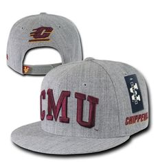 Cmu #central michigan university chippewas ncaa flat bill #snapback #baseball hat,  View more on the LINK: 	http://www.zeppy.io/product/gb/2/401104223149/