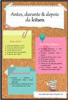 Descomplica o Português: Antes, durante e depois da leitura: guia prático