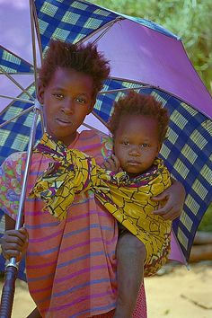 Colourful Couple - Mukuni, Southern - Zambia