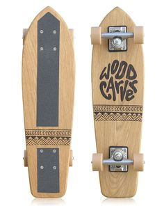 Satta Skates Wood Carver Skateboard