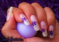 purple nail color