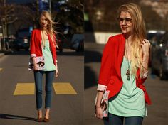 great outfit for spring.