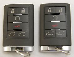 Pair of OEM Escalade Driver #1 and #2  22756465 22756466   2 20985619 OEM Key - image 3