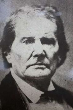 In this photo:  Tom Lincoln, Abraham Lincoln's father.