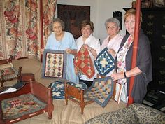 Love these little quilts!  Have to get busy making some!  -This summer?
