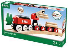 BRIO 33010 - CIRCUITO CLÁSICO DE TREN DE MADERA. + 2 AÑOS, IndalChess.com Tienda de juguetes online y juegos de jardin