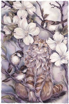 Bergsma Gallery Press::Paintings::Domestic Animals::Cats::Cats Me If You Can - Prints