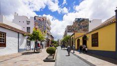 In Los Llanos de Aridane ziert moderne Kunst die Fassaden.