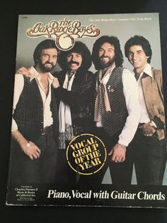1970s The Oak Ridge Boys Piano Vocal Guitar Chord Music Song Book Greatest Hits