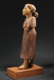 A wooden figure from the early Twelfth Dynasty, circa 1981-1917 B.C. Credit The Trustees of the National Museums of Scotland, Edinburgh