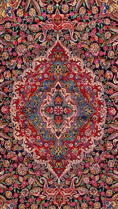 Kashmar Persian Rug-I love my Persian rug.  They never go out of style.