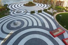 Vanke Daxing Sales gallery gardens by Spark Architects