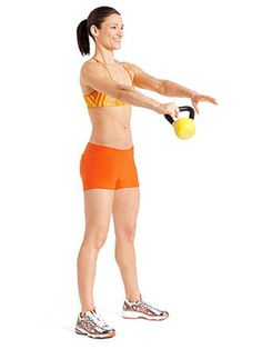 Sculpt strong, sexy muscles from every angle with these beginner-friendly kettlebell moves.