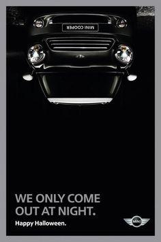 9 MINI Cooper's Ambient and Guerilla Marketing Ads   http://hispanic-marketing.com/mini-cooper-ambient-guerilla-marketing-ads/