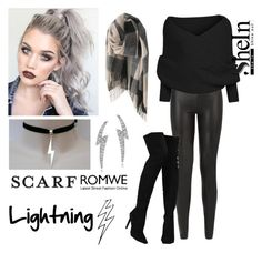 """""""221-> """"Lightning"""" by Little Mix"""" by dimibra ❤ liked on Polyvore featuring JDY, Liliana, Journee Collection and scarf"""