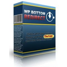 WP Bottom Redirect Plugin + Non Wordpress Version