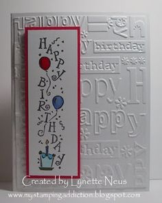 My Stamping Addiction: Vertical Greetings Hand Made Greeting Cards, Making Greeting Cards, Birthday Greeting Cards, Greeting Cards Handmade, Happy Birthday Cards Handmade, Homemade Birthday Cards, Masculine Birthday Cards, Diy Cards Tutorial, Birthday Card Design