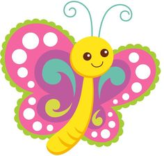 Cute Cartoon Butterfly derived from an image on Pixabay. Cartoon Butterfly, Butterfly Clip Art, Butterfly Drawing, Cute Butterfly, Child Draw, Diy And Crafts, Crafts For Kids, Cute Clipart, Cute Images