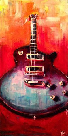 1959 Gibson Les Paul Guitar Painting. http://www.roylaws.com/#!1959-Les-Paul/zoom/crbp/i7slr