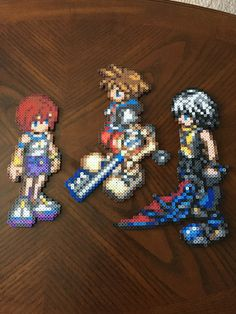 Kingdom Hearts Perler Beads by jnjfranklin.deviantart.com on @DeviantArt