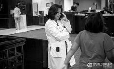 """""""Caregiver"""" Houston Medical Center © 2014 Harold Green."""