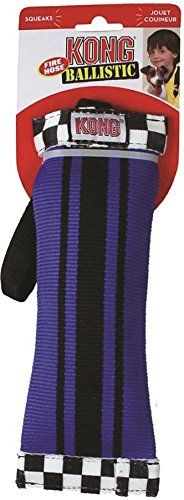 KONG Fire Hose Ballistic Sqwuggie Dog Toy Large Colors Vary >>> Check this awesome product by going to the link at the image. (Note:Amazon affiliate link)