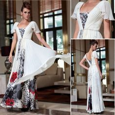 The Formal Shop - - BRIDESMAID DRESS - GREEK FLORAL $289.00