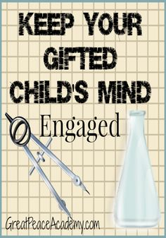 Gifted Child Resources. How to keep your gifted child's mind engaged