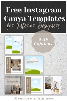 There are three distinct post categories in this free template package: Styling Secrets, Client Testimonial, and Before & After. All templates come with example posts and caption templates. All you need to do is to insert your branding, fill in your details and post them on social media! Free Instagram, Instagram Tips, Business Branding, Business Tips, Welcome To The Group, Simple Interior, Make It Simple, Instagram Templates, Social Media