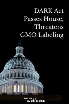 Did your rep vote to keep you in the dark when it comes to GMOs?