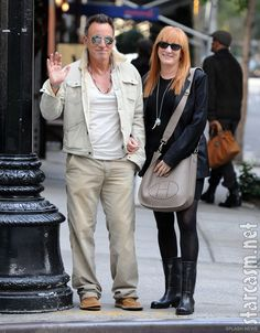 Imagine if I were walking down the street and just happened to run into Bruce...someone would have to revive me!