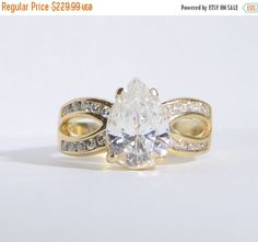 Early Bird Christmas Sale Vintage Cubic by LadyLibertyGold on Etsy
