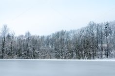 Check out Frozen lake by ChristianThür Photography on Creative Market