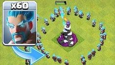 Clash of clans ice wizard returns to the game and is still cool! check him out in this clash of clans gameplay raid! CLASH ROYALE & CLASH OF CLANS F. Clash Of Clans Hack, Clash Of Clans Free, Clash Of Clans Gems, Clash Of Clans Gameplay, Clash Of Clans Account, Clas Of Clan, Video Page, Clash Royale, Free Gems