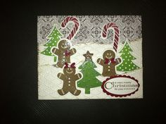Enjoy this Christmas Card using Sentsational Seasons stamp set and the Holiday Collections framelits.  Happy Crafting!~ Dee