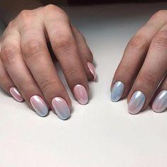 Маникюр | Дизайн ногтей nails mermaid effect design